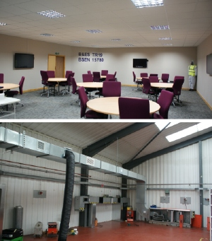 This new training centre for ventilation cleaning and hygiene represents an investment of £300 000