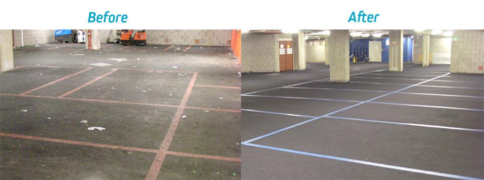 gum-removal-carpark
